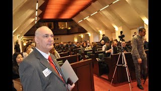 President Baretzky ECIPS and APEMA Conference Belgian Parliament « Stop financing Islamist groups in Europe »