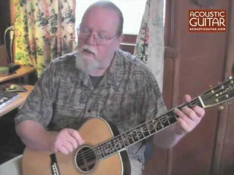 Acoustic Guitar Lesson - Elizabeth Cotten-style Lesson