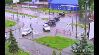 ДТП на перекрестках в Ярославле за 2014 год