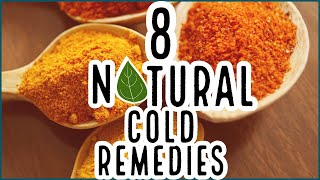 8 Effective, FAST, Natural Cold & Sinus Infection Remedies | Frugal Living | At Home Treatments