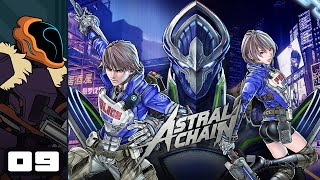 Let's Play Astral Chain - Switch Gameplay Part 9 - Good Cop, Best Cop