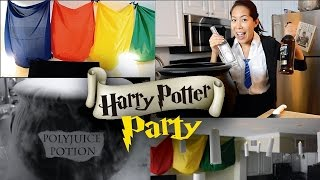 HOW TO THROW THE BEST HARRY POTTER PARTY!!