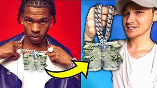 A CLOSE LOOK At Lil Baby's New EXPENSIVE Chain From ICEBOX!. Do YOU Like It?