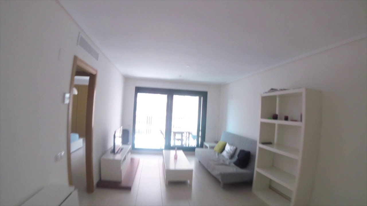 Stylish 2-bedroom apartment for rent with private terrace, access to pool and adjacent to the beach