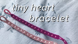 Tiny Heart Bracelet Tutorial ♡ (beginner)
