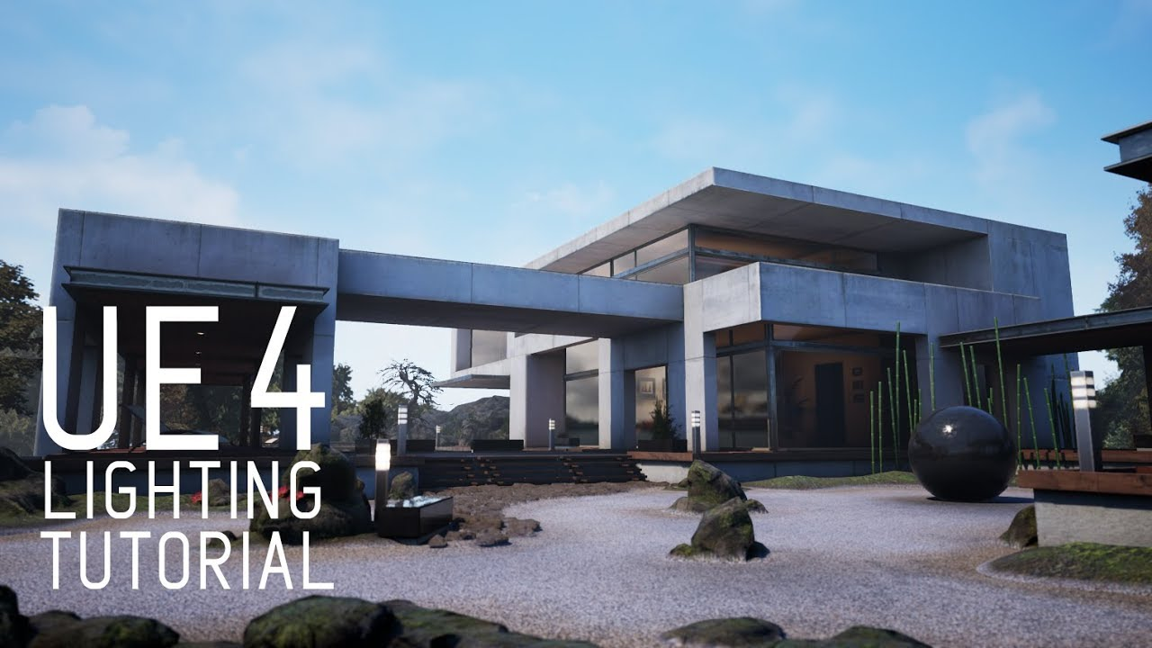 UNREAL ENGINE 4 LIGHTING TUTORIAL (UE4) -  FREE DOWNLOAD LINK INCLUDED