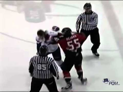 Jonathan Oligny vs. Patrick McGrath