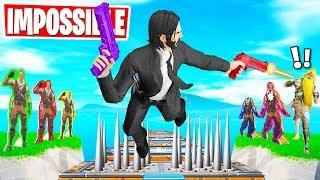 The JOHN WICK Puzzle DEATHRUN! (Fortnite Creative Mode)