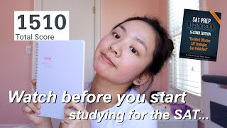 How I got a 1500+ | how to self study for the SAT | best SAT prep books 2020