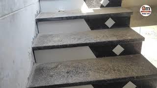 granit lapatro polish step design and kitchen platform design