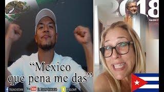 Cubana Balsera se BURLA de Mexicanos que Votaron por AMLO (Lopez Obrador)