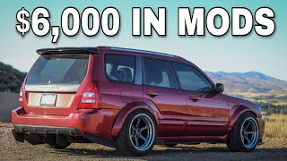 WHAT $6000 IN MODS LOOKS LIKE ON A SUBARU FORESTER XT