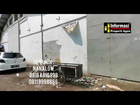 Gudang atau Pabrik Disewakan Kapuk Muara, Jakarta Utara 14460 RC3Z0ZS3 www.ipagen.com
