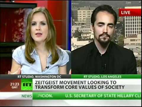 Peter Joseph on Russia Today - New Value Order - Sept 14th '11[The Zeitgeist Movement]