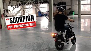 Juiced Scorpion Pre-Production First Ride