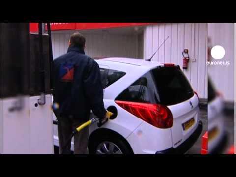 Der Aufwand des Benzins subaru