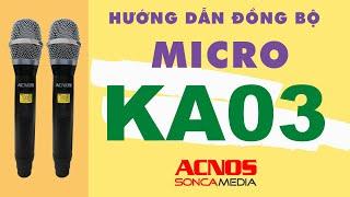 Dàn Âm Thanh Di Động ACNOS KS361MS