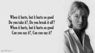 Hurts So Good   Astrid S (Lyrics)