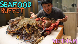 BEST All You Can Eat SEAFOOD Buffet in Saigon VIETNAM! - Video Youtube
