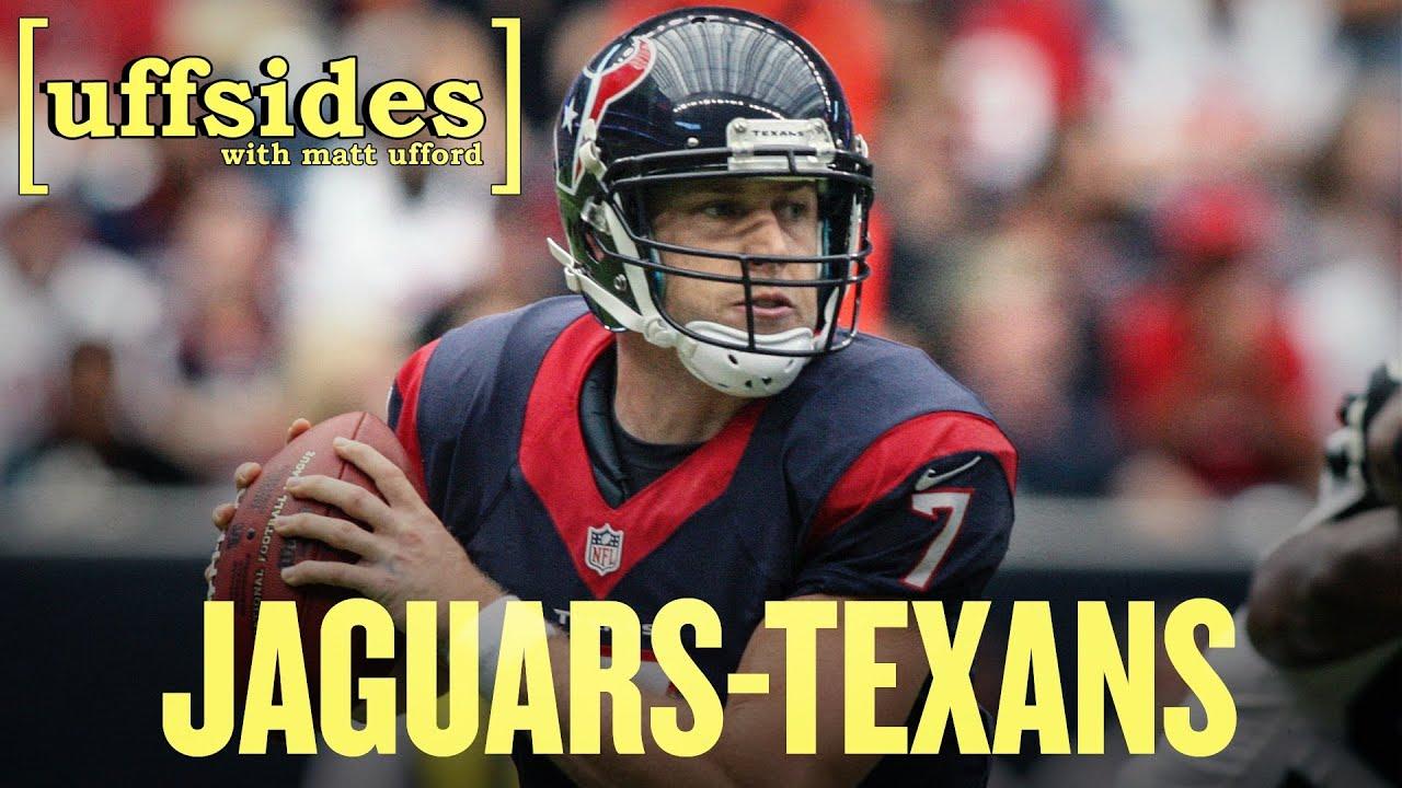 Jaguars vs Texans 2013: Uffsides NFL Week 12 Previews thumbnail