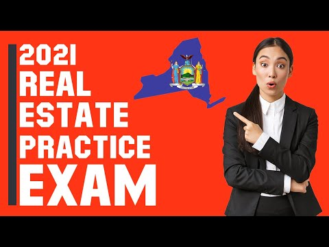 New York Real Estate Exam 2021 (60 Questions with Explained ...