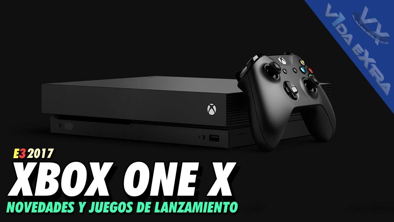 Xbox One X Precio De Lanzamiento Y Caracteristicas De La Consola