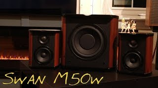 SWAN M50w _(Z Reviews)_ My Desktop Speakers