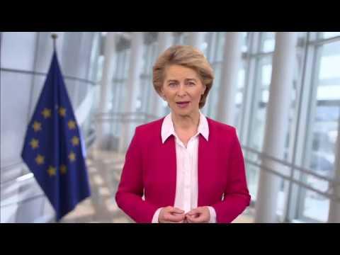 Μήνυμα για την 73η ΓΣ του ΠΟΥ   Πρόεδρος ΕΕ κ. Ούρσουλα φον ντερ Λάιεν   19/05/2020