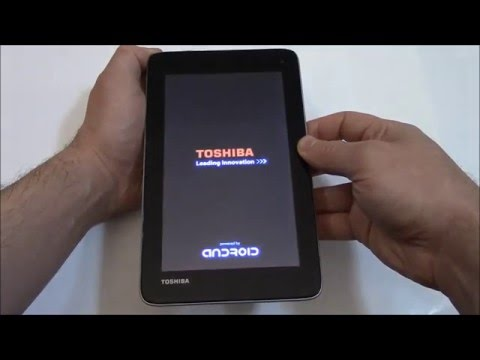 How To Hard Reset A Toshiba Excite Tablet