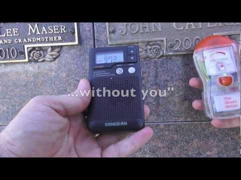 P-SB7 Spirit Box at the Cemetery