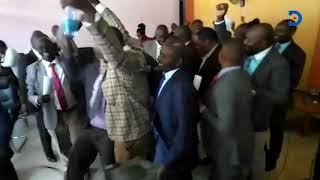 Chaos erupt at the Kirinyaga County Assembly after the Punguza Mzigo Bill was withdrawn