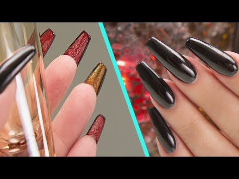 Louboutin Inspired Acrylic Nails - Step by Step Tutorial