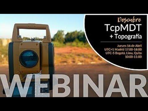 Descubre TcpMDT + Topografía