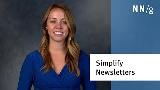 3 UX Tips for Better Newsletters and Marketing Emails