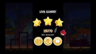 Abra-Ca-Bacon 1-10 Angry Birds Seasons - level 10 Walkthrough 3 Stars (HD)