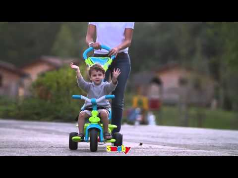 Smoby Tricycle Baby Driver Confort childrens comfort trike with parent pole