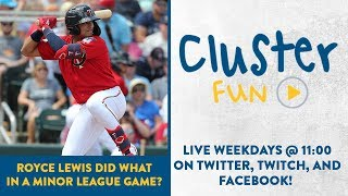 Cluster Fun - Minnesota Twins Prospect Royce Lewis Did What In A Minor League Game