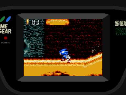 Sonic Blast (Sega Game Gear) Gameplay Part 2 (Yellow Desert Zone)