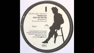 Howard Jones - Things Can Only Get Better (Extended Mix)