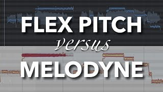 Logic Pro X - FLEX PITCH vs MELODYNE | Which is best for vocal tuning?