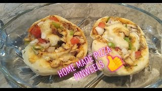 Chiken Pizza Pinwheels Without Oven(Pizza Rolls) recipe by Asma usman *cook wd asma*