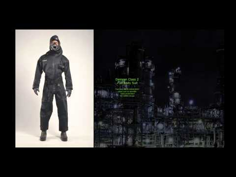 RST Demron Full CBRN Anti Radiation Suit (Can Be Customised According To The Application)