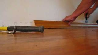 DIY 107  Refinishing Wood Floors  Prep  Part 1 Of 3