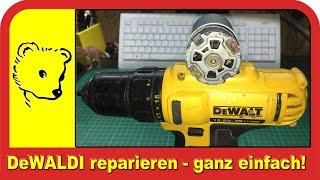 Akkuschrauber reparieren - Repair cordless screwdriver