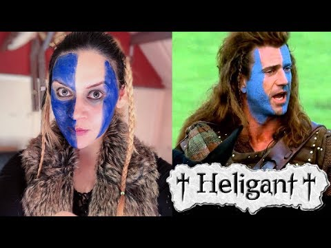 William Wallace Makeup /// Braveheart /// Heligant