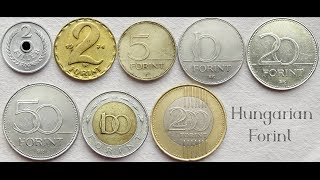 Hungarian Filler & Forint Coins Collection | Hungary - Europe