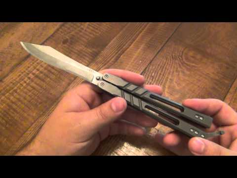 """Knife Review : BRS """"Alpha Beast"""" Balisong"""