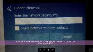 How to make secure connections between laptop and hp samsung galaxy J7