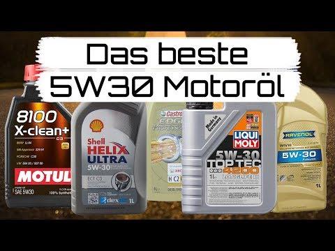 Das beste 5W30 Motoröl *So findest Du es!*