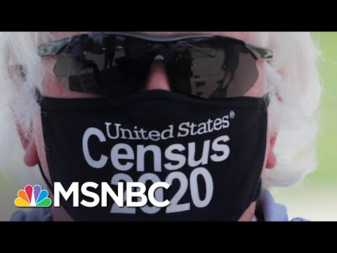 Trump Hedges Bet Against 2020 Win With Early Census Data Grab | Rachel Maddow | MSNBC